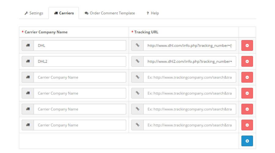 Shipment Order Tracking