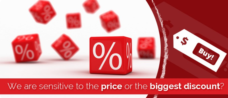 We are more sensitive at the lowest price or the biggest discount?