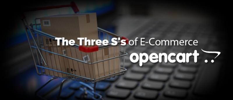 The Three S's of E-Commerce