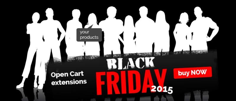 OpenCart tips for Black Friday