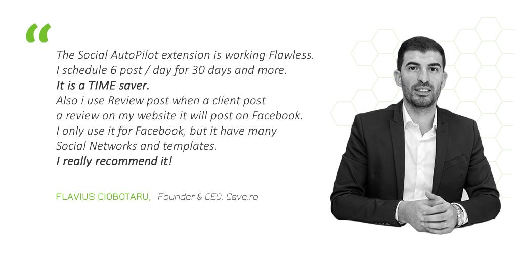 Flavius Ciobotaru - Founder & CEO - Gave.ro