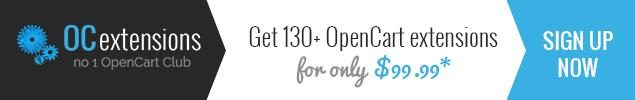 OC extensions Club ~ nr 1 OpenCart Club
